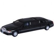 Baby Steps Kinsmart Die-Cast Metal 1999 Lincoln Town Car Stretch Limousine (Black)