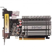 ZOTAC GeForce GT 730 Low Profile 4GB 64-Bit DDR3 PCI Express 2.0 x16 (x8 lanes) Graphics Card (ZT-71115-20L)
