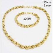 EXEED 231854- náhrdeľník a náramok