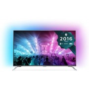 "Televizor LED Philips 125 cm (49"") 49PUS7101/12, Ultra HD 4K, Smart TV, Ambilight, WiFi, CI+ + Lantisor placat cu aur si argint + Cartela SIM Orange PrePay, 6 euro credit, 4 GB internet 4G, 2,000 minute nationale si internationale fix sau SMS nationale di"