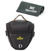 MegaGear ''Ultra Light'' Camera Case Bag for Nikon Coolpix B500 L830 L840 P520 Nikon 1 S1 Nikon COOLPIX P530 P600 Nikon 1 J4 Nikon 1 J5