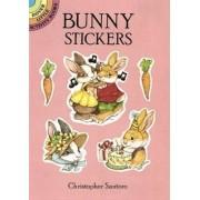 Bunny Stickers by Christopher Santoro