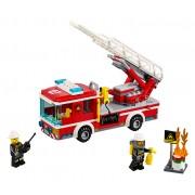 LEGO® City Camion de pompieri cu scara - 60107