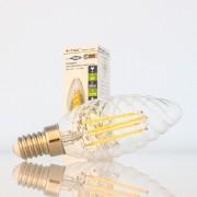 Lâmpada LED E14 4w»40W Luz Quente 400Lm Vela TW FILAMENTO