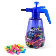 Indigo Creatives Holi Water Balloon Pumping Station Spray with 200 Color Gulal Water Balloons and Pump for Kids