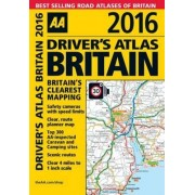 Aa Publishing: Aa Driver's Atlas Britain 2016