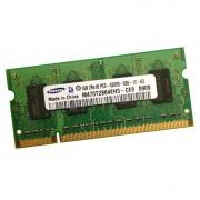 1Go RAM PC Portable SODIMM Samsung M470T2864EH3-CE6 PC2-5300U DDR2 667MHz CL5