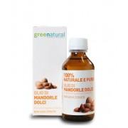 Greenatural Olio di Mandorle Dolci 100% Naturale e Puro 100 ml.