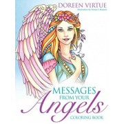 Messages from Your Angels Coloring Book by Doreen Virtue