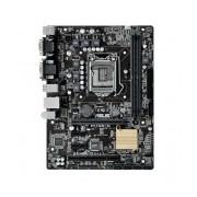 Tarjeta Madre ASUS micro ATX H110M-C/CSM, S-1151, Intel H110, USB 2.0/3.0, 32GB DDR4, para Intel ― Requiere Actualización de BIOS para trabajar con Procesadores de 7ma Generación