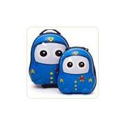 Uniform Cutie Policeman - Set valiza tip trolley si ghiozdan (rucsac)