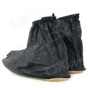 Zapatos de goma NUCKILY PF11 Sumergible Covers w / Pad antideslizante - Negro (XL / Par)