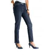 Dehnbund-Jeans für Damen, Farbe dunkelblau, Gr.50