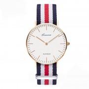 classic brand relogio feminino Ladies casual Quartz watch men women Nylon strap Dress watches Fashion women watch Relojes hombre