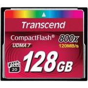 Card de memorie Transcend Compact Flash, 128GB, 800x