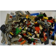 Lego Big Bulk Lot - 1 Pound NEW Random Bricks Some From Star Wars Sets Some Specialty Pieces About 400 - 450 Pieces Free Random Mini Figures (About 400 Pieces)