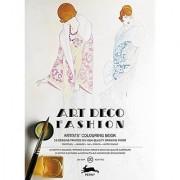 Pepin Press Pepin Press Art Deco Fashion : ARTISTS'COLOURING BOOK (98079 )