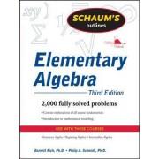 Schaum's Outline of Elementary Algebra by Barnett Rich