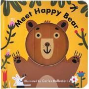 Little Faces: Meet Happy Bear by Carles Ballesteros