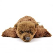 Real Stuffed Brown Bear Sleeping Child (japan import)