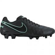 Nike Tiempo Mystic V FG, Botas de Fútbol para Hombre, Negro (Black / Black)