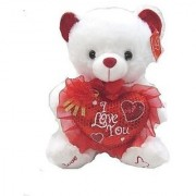 Musical I Love You Teddy Bear (10 ) Plays Music Great MotherS Day Gift Or Valentine Day Center Piece