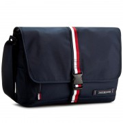Чанта за лаптоп TOMMY HILFIGER - Th Active Messenger W/Flap AM0AM01751 001