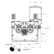 Mecanism de avans 4 Role (echipat Ø 1,0 - 1,2)