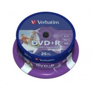 DVD+R printabil 25 buc./cutie VERBATIM