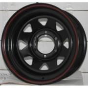 Jante Off-Road Triangular BLACK: 8J x R16; 6x139.7 - GOSS