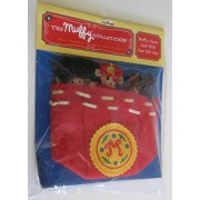 Muffy Vanderbear The Muffy Collection Santas Workshop {The North Pole Collection} Muffys Santa Sack With Four Felt Toys (1994)