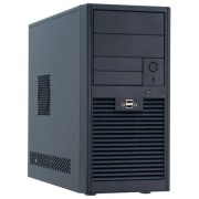 Chieftec sd-01b-u3 Mini Tower Case per PC (MATX, 2 x 5,25/2 x 3,5 esterne, 2 x 3,5 interne, 2 x USB 3.0), colore: nero