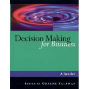 Decision Making for Business by Graeme Salaman
