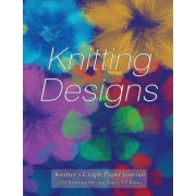 Knitter's Graph Paper Journal 120 Knitting Design Pages 4 by Spicy Journals