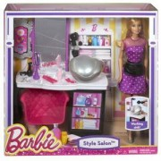 Комплект Барби кукла със салон за красота в Малибу, Barbie Shops with Doll Asst (2 CF), 1712541