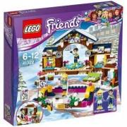 Конструктор ЛЕГО ФРЕНДС - Ледена пързалка в зимния курорт, LEGO Friends, 41322