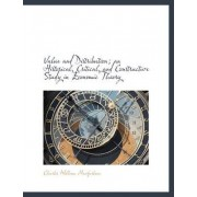 Value and Distribution; An Historical, Critical, and Constructive Study in Economic Theory by Charles William MacFarlane