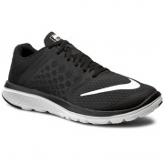Обувки NIKE - Fs Lite Run 3 807144 001 Black/White