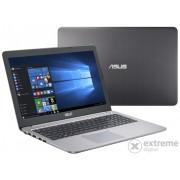 Laptop Asus K501UX-DM080D, gri, layout tastatura HU
