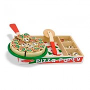 Melissa & Doug 63 Piece Pizza Party Play Set 167