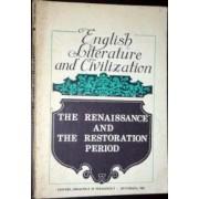 english literature and civilization * the renaissance and the restoration period