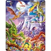 Puzzle Dragoni, 50 Piese Larsen LRUS17