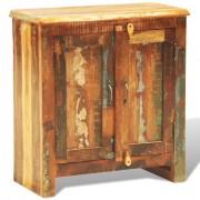 vidaXL Шкаф от регенерирано дърво в античен стил с две врати