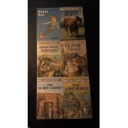 Ladybird Children's Classics - Fiction - Lot De 6 Livres - Black Beauty - Swiss Family Robinson - Oliver Twist - The Secret Garden - The Lost World - Peter Pan