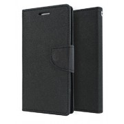 Mercury (Goospery) Flip Diary Cover for Samsung Galaxy Note 2 N7100 - Black Color