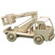 Puzzle eco 3D din lemn Utility Pebaro
