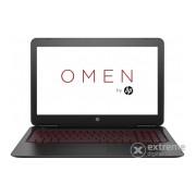 Laptop HP Omen 15-ax004nh 1DM16EA, negru + Windows10, layout HU