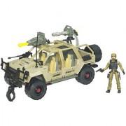 GI Joe Vehicle Vamp 4X4 with Double Clutch Figure
