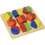 Small World Toys Ryans Room Wooden Toys - Sort Em Out Shapes Board