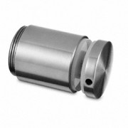 Adaptador para vidrio variable, D50mm, sup.plana